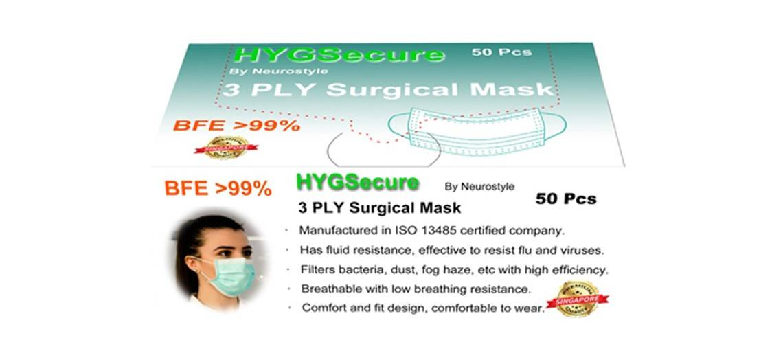 3ply Surgical Mask EAR
